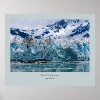 Serie del glaciar - Hubbard 272 Poster