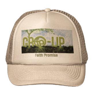 Serie del grupo de la promesa de la fe gorro