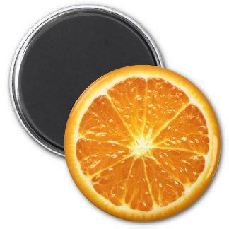 Serie del imán de la fruta - naranja