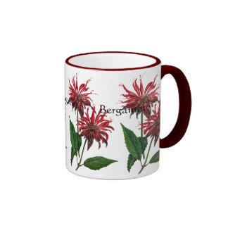 Serie del jardín de hierbas - bergamota tazas