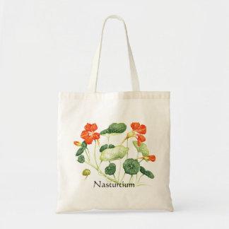 Serie del jardín de hierbas - capuchina bolsa de mano