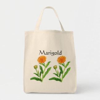 Serie del jardín de hierbas - maravilla bolsa tela para la compra