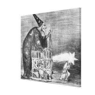 Serie 'del La Comete de 1857 ' Impresiones En Lona Estiradas