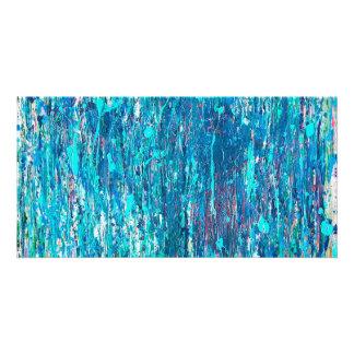 Serie del lavado del océano tarjeta fotográfica personalizada