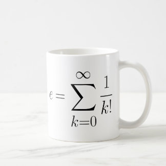 Serie del número de Euler Taza Clásica