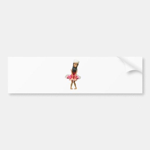 serie del osama etiqueta de parachoque