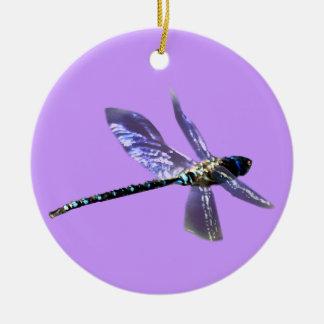 Serie del regalo de los Insecto-amantes de la Adorno Navideño Redondo De Cerámica
