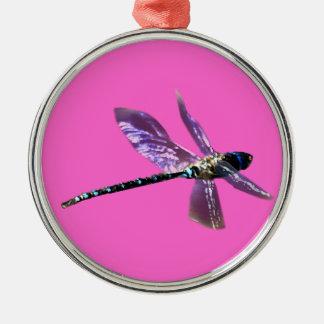 Serie del regalo de los Insecto-amantes de la Adorno Navideño Redondo De Metal