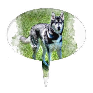 Serie del regalo del mascota de los Perro-amantes  Palillos De Tarta