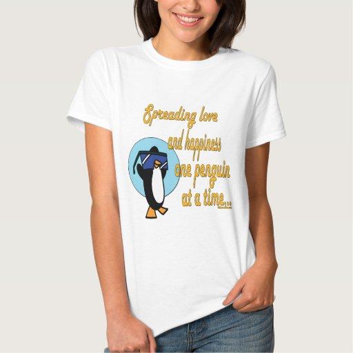 Serie del regalo del pingüino de la diversión playera