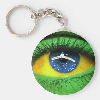 Serie el Brasil Llavero Personalizado