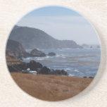 Serie escénica---Costa costa rocosa de California Posavasos Diseño