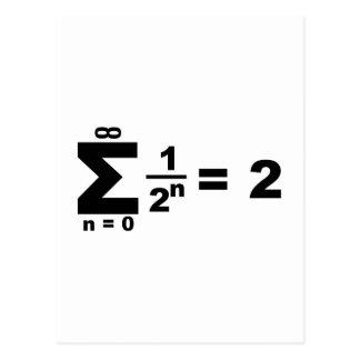 serie geométrica de Reihe del geometrische Postal