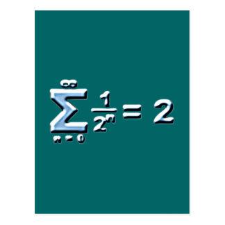 serie geométrica de Reihe del geometrische Tarjeta Postal