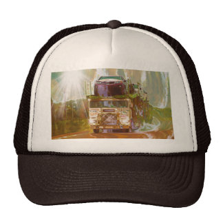Serie grande del gorra del camionero del transport
