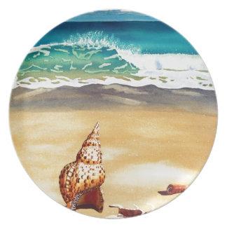 Serie II de Shell del mar Plato