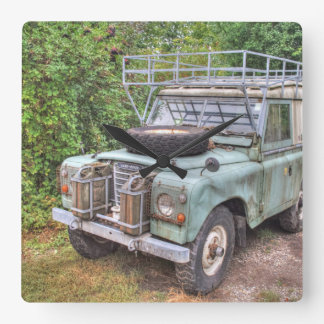 Serie III 109 de Land Rover Reloj Cuadrado
