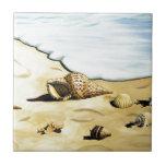 Serie III de Shell del mar Tejas Ceramicas