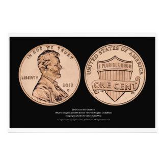 Serie IV de la impresión de la moneda de Uncircula Impresiones Fotograficas