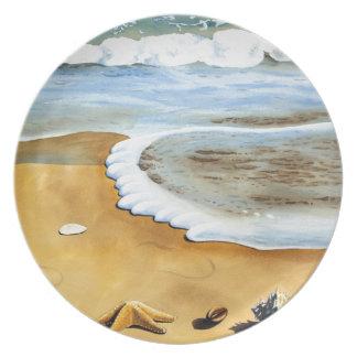 Serie IV de Shell del mar Plato Para Fiesta