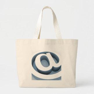 Serie @ large tote bag