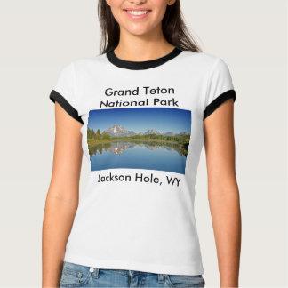Serie magnífica 10 del parque nacional de Teton Playera