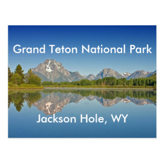 Serie magnífica 10 del parque nacional de Teton Postal