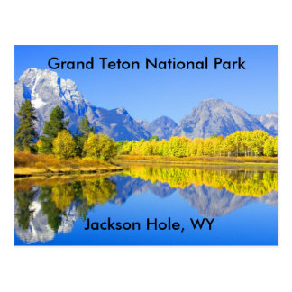 Serie magnífica 1 del parque nacional de Teton Postal
