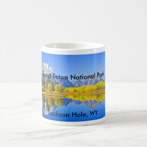 Serie magnífica 1 del parque nacional de Teton Taza De Café