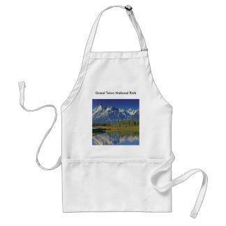 Serie magnífica 4 del parque nacional de Teton Delantal