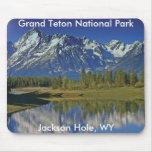 Serie magnífica 4 del parque nacional de Teton Alfombrilla De Raton