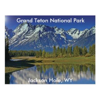 Serie magnífica 4 del parque nacional de Teton Tarjetas Postales