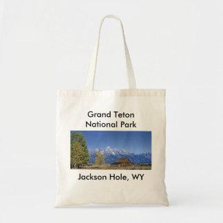 Serie magnífica 5 del parque nacional de Teton Bolsa Tela Barata