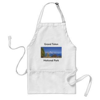 Serie magnífica 5 del parque nacional de Teton Delantal