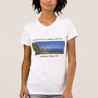 Serie magnífica 5 del parque nacional de Teton Playera