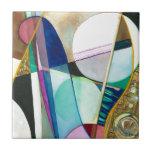 Serie musical - cuarteto del jazz azulejos cerámicos
