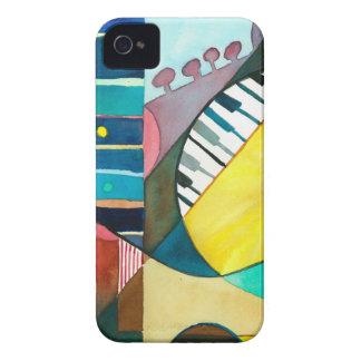Serie musical - pistas de la guitarra Case-Mate iPhone 4 cobertura