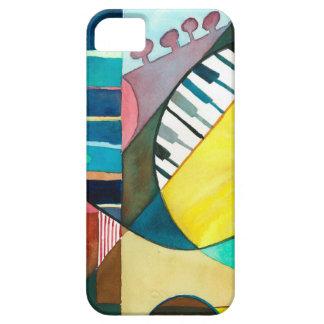 Serie musical - pistas de la guitarra iPhone 5 protectores