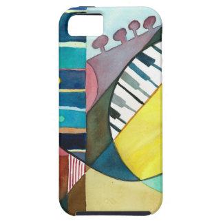 Serie musical - pistas de la guitarra iPhone 5 Case-Mate fundas