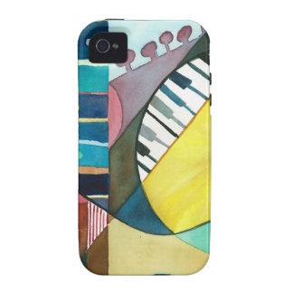 Serie musical - pistas de la guitarra Case-Mate iPhone 4 carcasa