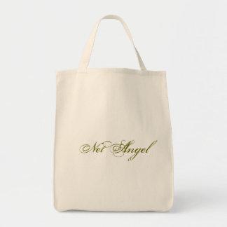 Serie neta del ángel - la bolsa de asas orgánica
