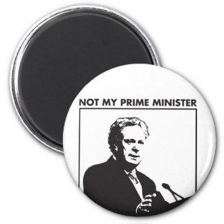 Série no mi primer ministro imán redondo 5 cm