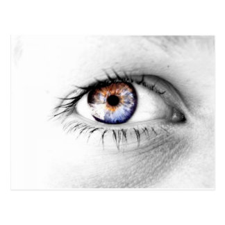 Serie Olho Branco Postcard