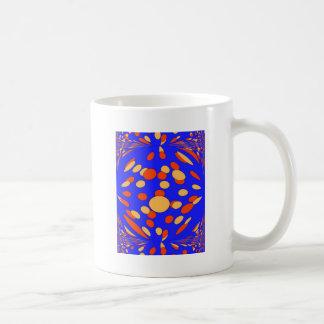 Serie psicodélica 2 taza de café