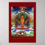 Serie religiosa del poster del arte de Buda Prajna