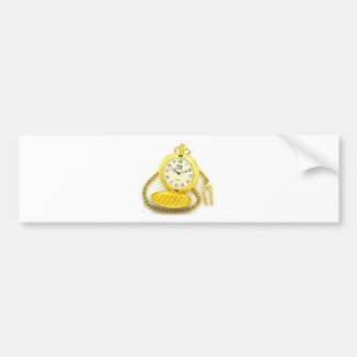 Serie Relogio Bumper Sticker