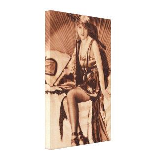 Serie semanal del arte de la película del vintage impresiones en lienzo estiradas