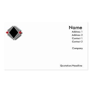 Serie simple de los logotipos - tarjetas de visita