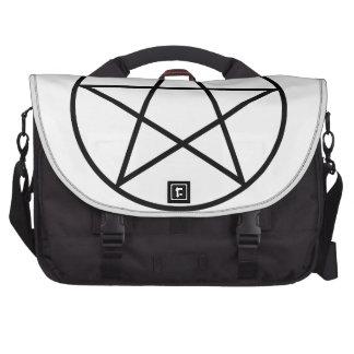 Serie sobrenatural #4 del símbolo bolsas para ordenador