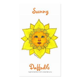 Serie soleada #2 del narciso tarjetas de visita